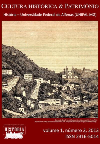 Volume 1, Número 2, da revista Cultura histórica & Patrimônio
