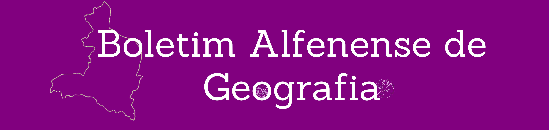 Boletim Alfenense de Geografia